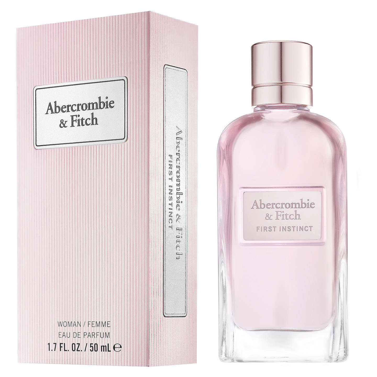 BuyAbercrombie & Fitch First Instinct For Her Eau de Parfum, 50ml Online at johnlewis.com