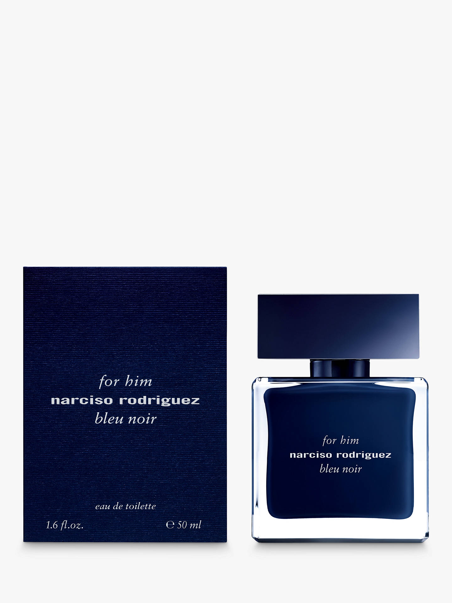 Buy Narciso Rodriguez For Him Bleu Noir Eau de Toilette, 50ml Online at johnlewis.com