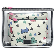 Buy Radley Love Me Love My Dog Pouch Set, Ivory Online at johnlewis.com
