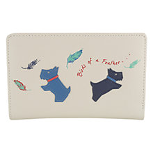 Buy Radley Birds Of A Feather Leather Medium Zip Purse Online at johnlewis.com