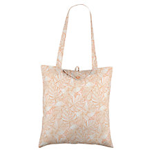 Buy Radley Wild Palms Foldaway Shopper Bag, Pale Pink Online at johnlewis.com