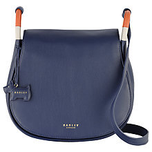 Buy Radley Hyde Park Leather Across Body Bag Online at johnlewis.com