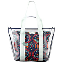 Buy Radley Summer Tribes Large Grab Bag, Navy Online at johnlewis.com