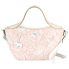 Buy Radley Wild Palms Medium Grab Bag, Pale Pink Online at johnlewis.com