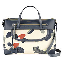 Buy Radley Dash Dog Grab Bag, Ivory Online at johnlewis.com