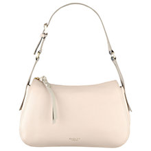 Buy Radley Wren Street Leather Shoulder Bag, Pale Pink Online at johnlewis.com