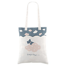Buy Radley Every Cloud Cotton Canvas Medium Tote Bag, Natural Online at johnlewis.com