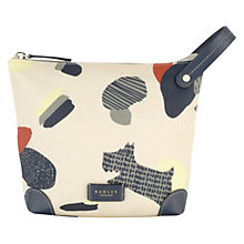 Buy Radley Dash Dog Cosmetic Case, Ivory Online at johnlewis.com
