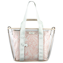 Buy Radley Wild Palms Large Grab Bag, Blue Online at johnlewis.com