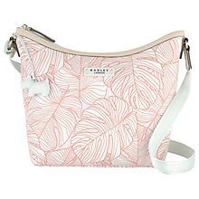 Buy Radley Wild Palms Medium Across Body Bag, Pale Pink Online at johnlewis.com