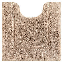 Buy John Lewis Deep Pile Pedestal Mat with Microfresh Technology, 50 x 55cm Online at johnlewis.com