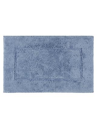 John Lewis & Partners Large Deep Pile Bath Mat with Microfresh Technology, 60 x 100cm