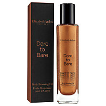 Buy Elizabeth Arden Dare To Bare Body Bronzing Oil, 50ml Online at johnlewis.com