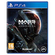 Buy Mass Effect Andromeda, PS4 Online at johnlewis.com