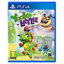 Buy Yooka-Laylee, PS4 Online at johnlewis.com