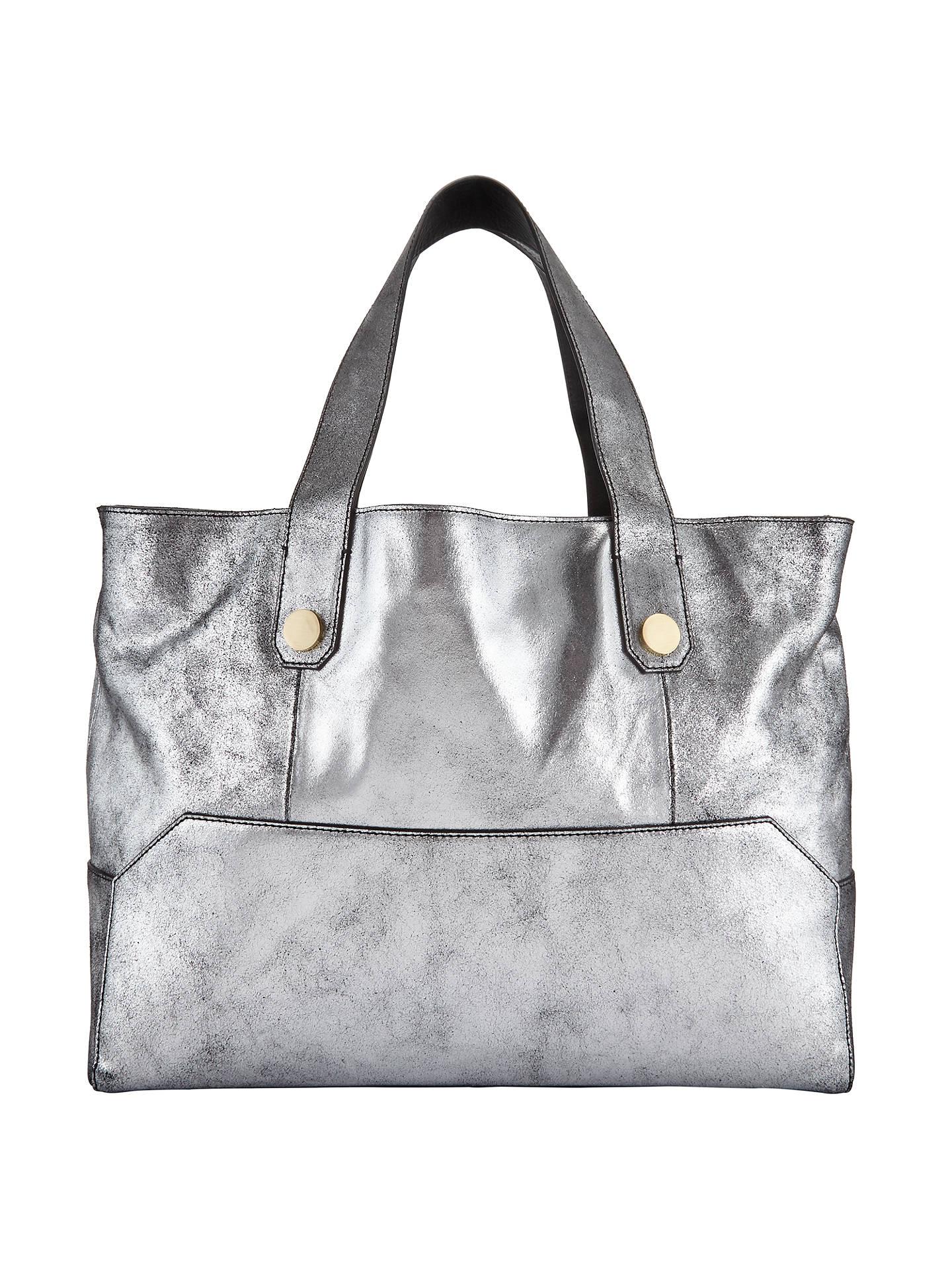f7c76e191496 Kin by John Lewis Luna Leather Tote Bag at John Lewis   Partners