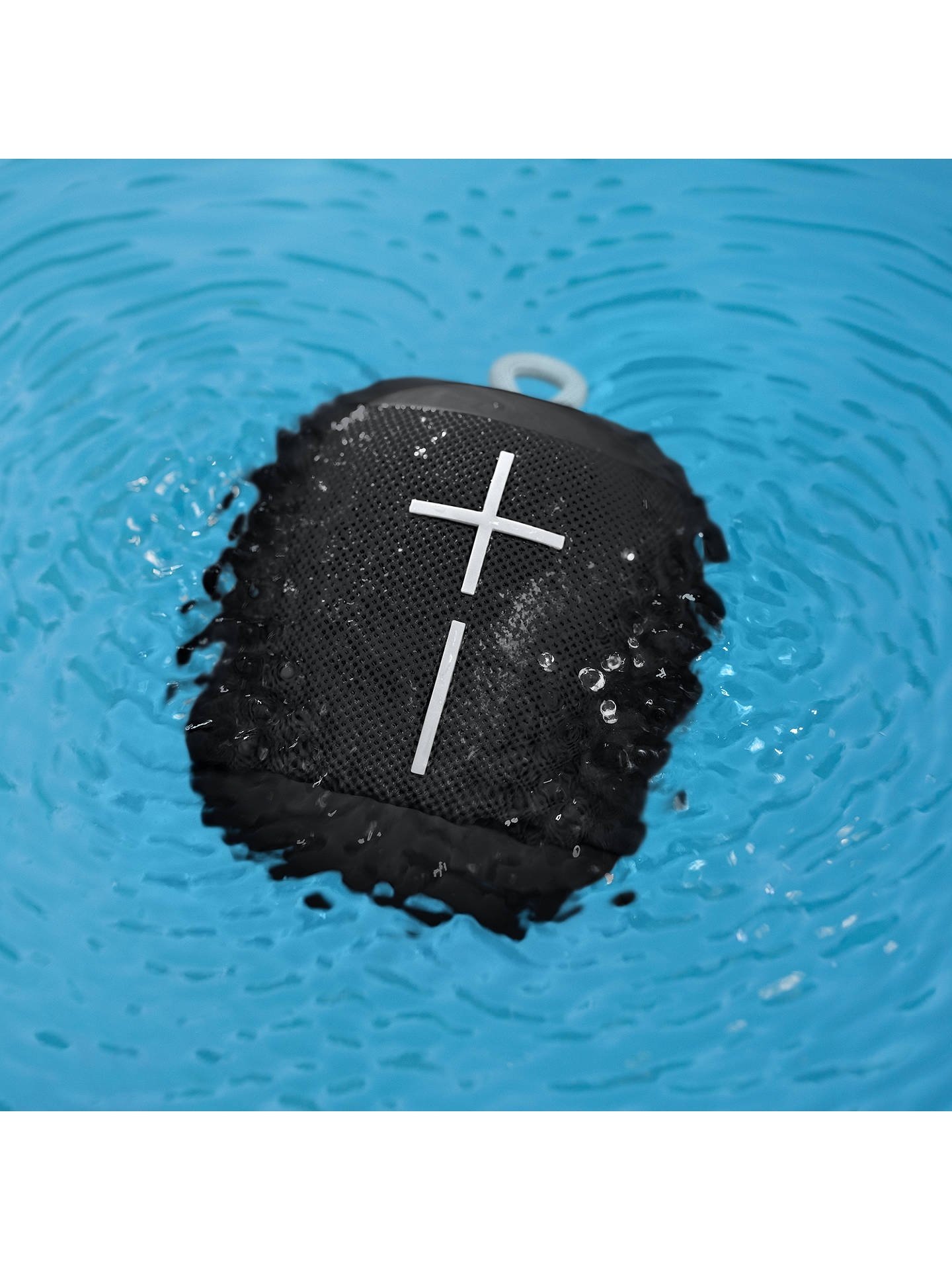 Buy Ultimate Ears WONDERBOOM Bluetooth Waterproof Portable Speaker, Phantom Black Online at johnlewis.com