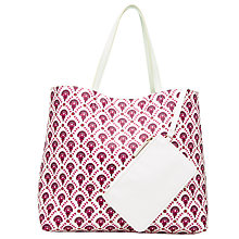 Buy John Lewis Calico Grab Bag, Flower Print Online at johnlewis.com