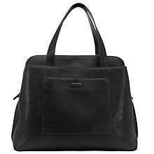 Buy John Lewis Tia Workwear Tote Bag, Black Online at johnlewis.com