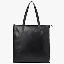 Buy Kin by John Lewis Freja North / South Tote Bag, Black Online at johnlewis.com