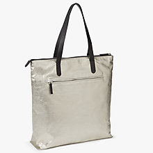 Buy Kin by John Lewis Freja Tote Bag, Silver Online at johnlewis.com