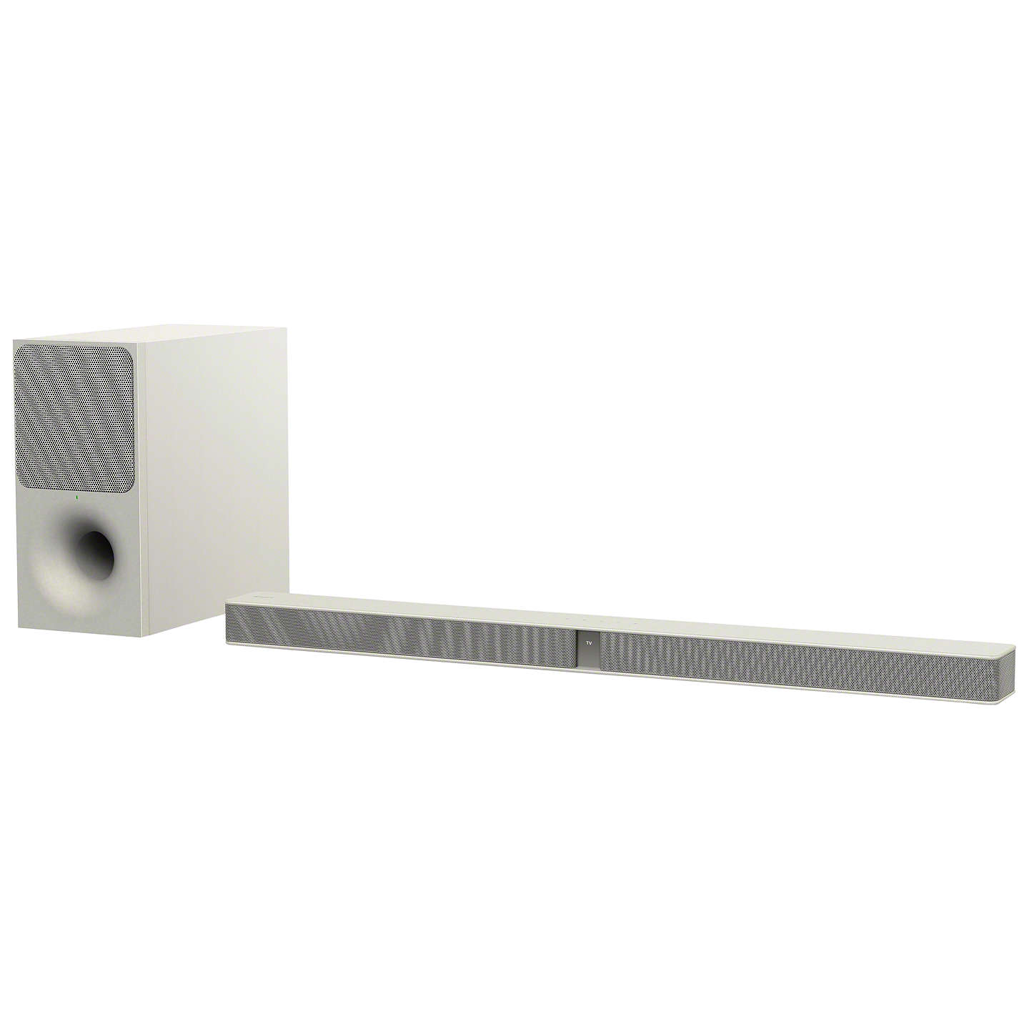 BuySony HT-CT291 Bluetooth Sound Bar with Wireless Subwoofer, Creme White Online at johnlewis.com
