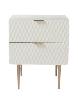 west elm Audrey 2 Drawer Bedside Table