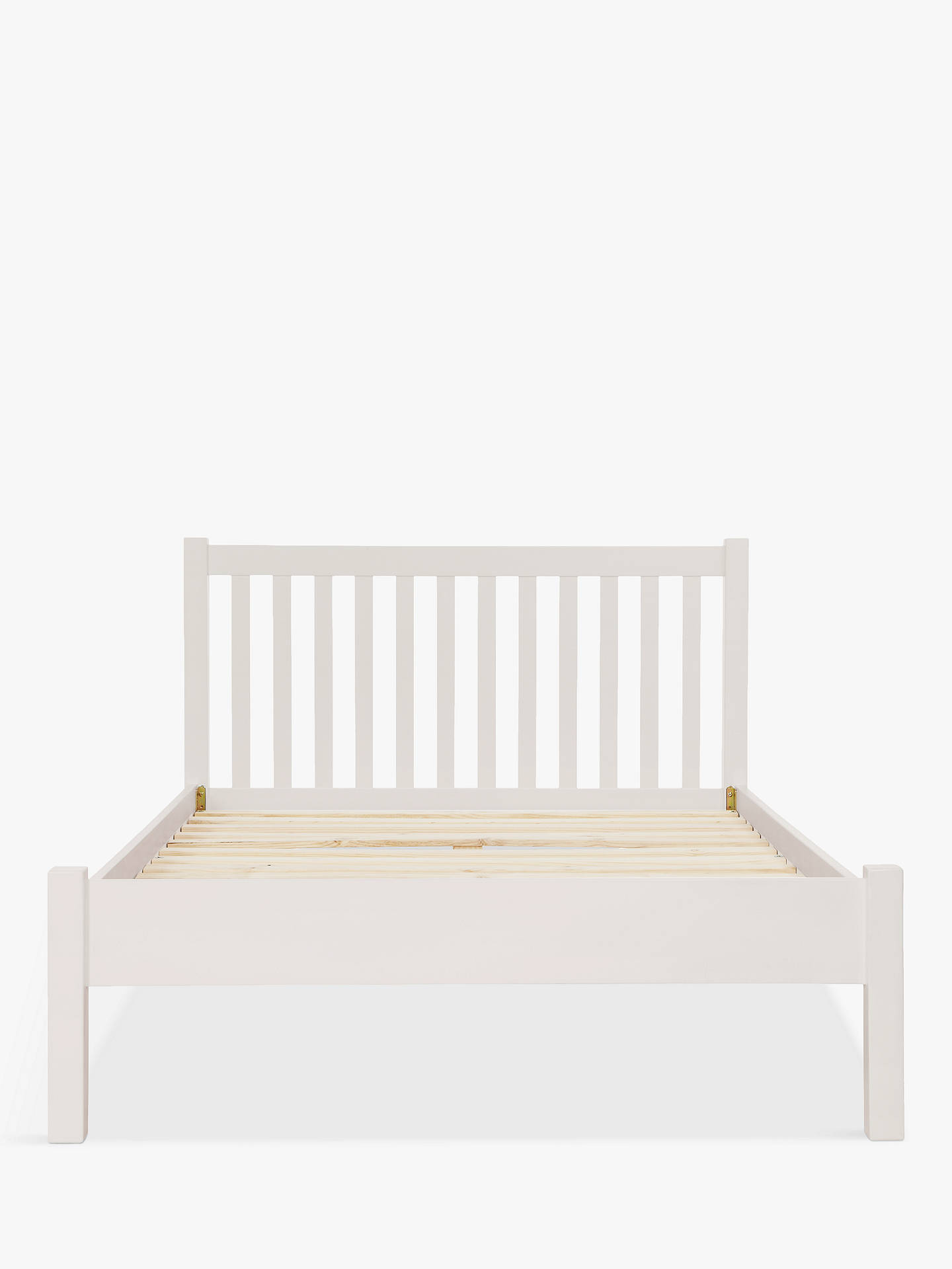 Collection Aspley Small Double Bed Frame White Viewframes Co