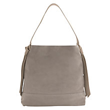 Buy Mint Velvet Kim Suede Knotted Shoulder Bag Online at johnlewis.com