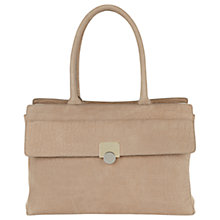 Buy Hobbs Croc Effect Pimlico Work Bag, Mink Online at johnlewis.com