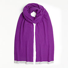 Buy John Lewis Tipped Cashmere Travel Wrap Online at johnlewis.com