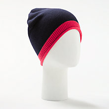 Buy John Lewis Tipped Cashmere Roll Beanie Hat Online at johnlewis.com