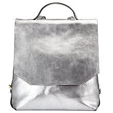 Buy Kin by John Lewis Helen Leather Backpack Online at johnlewis.com