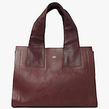 Buy Modern Rarity Carmenere Leather Tote Bag Online at johnlewis.com