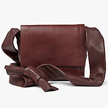 Buy Modern Rarity Carmenere Leather Across Body Bag Online at johnlewis.com