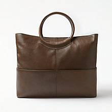 Buy Kin by John Lewis Fia Brite Leather Tote Bag Online at johnlewis.com
