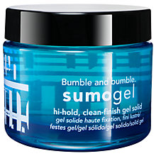 Buy Bumble and bumble Sumo Gel, 50ml Online at johnlewis.com