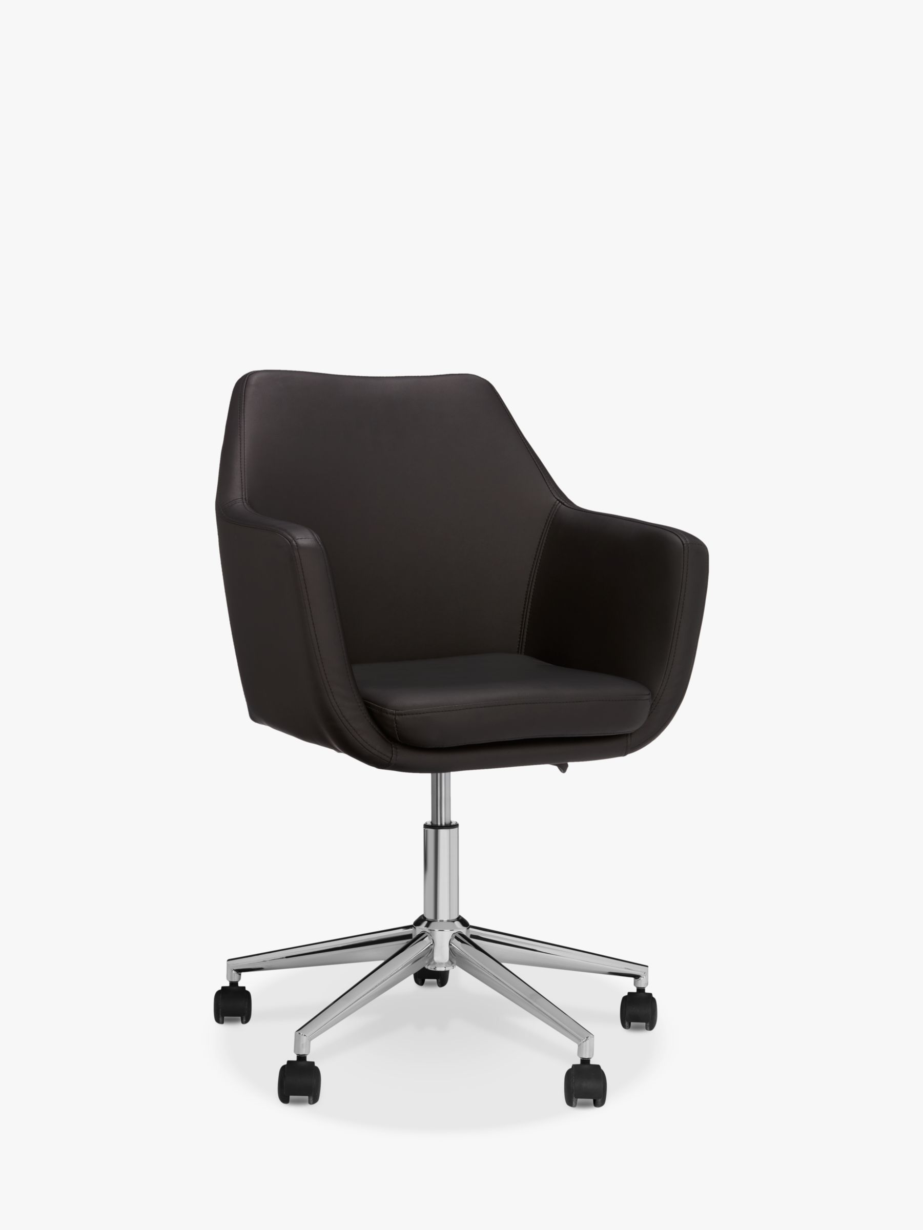 John Lewis Partners Reid Faux Leather Office Chair At John Lewis Partners