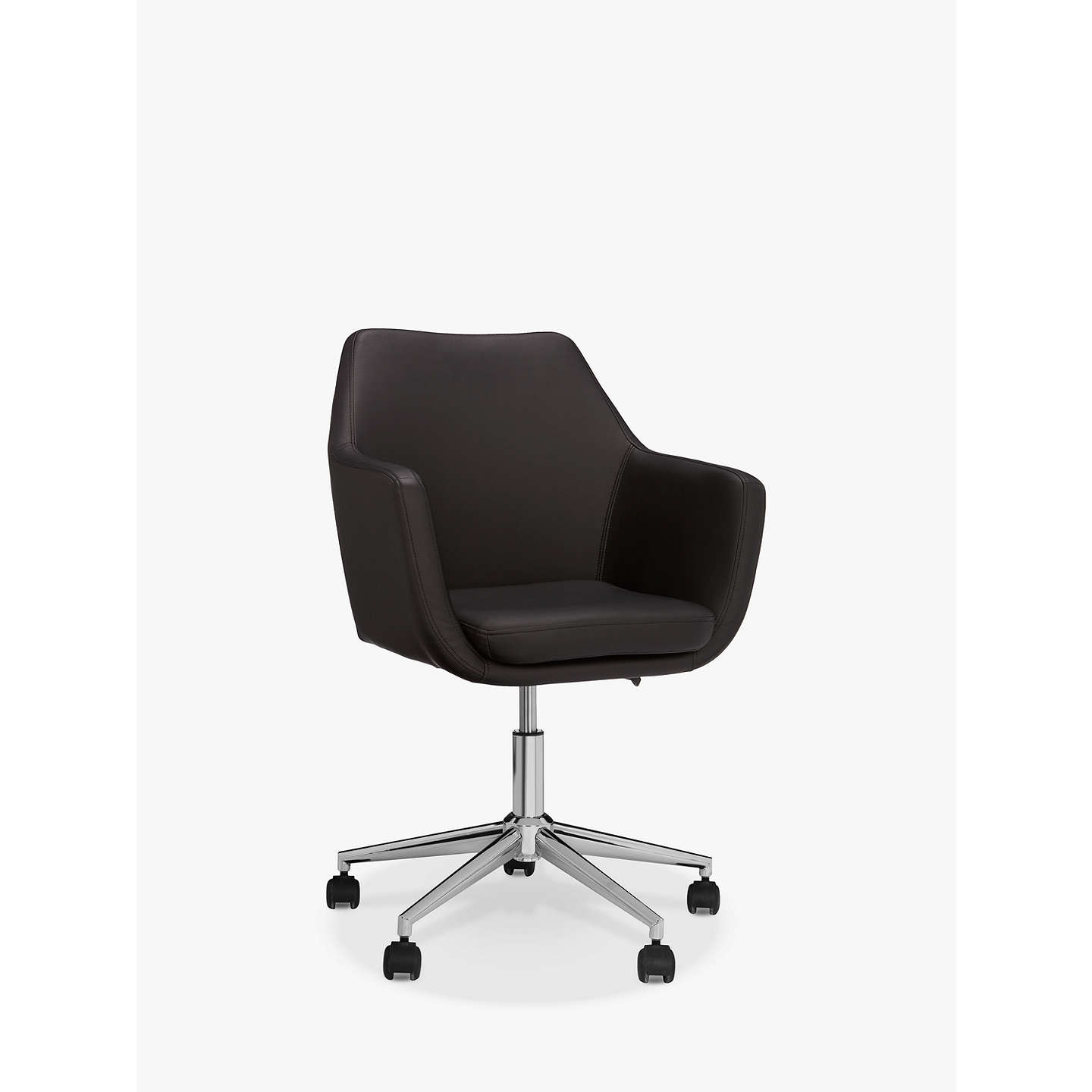 chair white product office soft and i management staples back low chairs eames ray pad charles leather