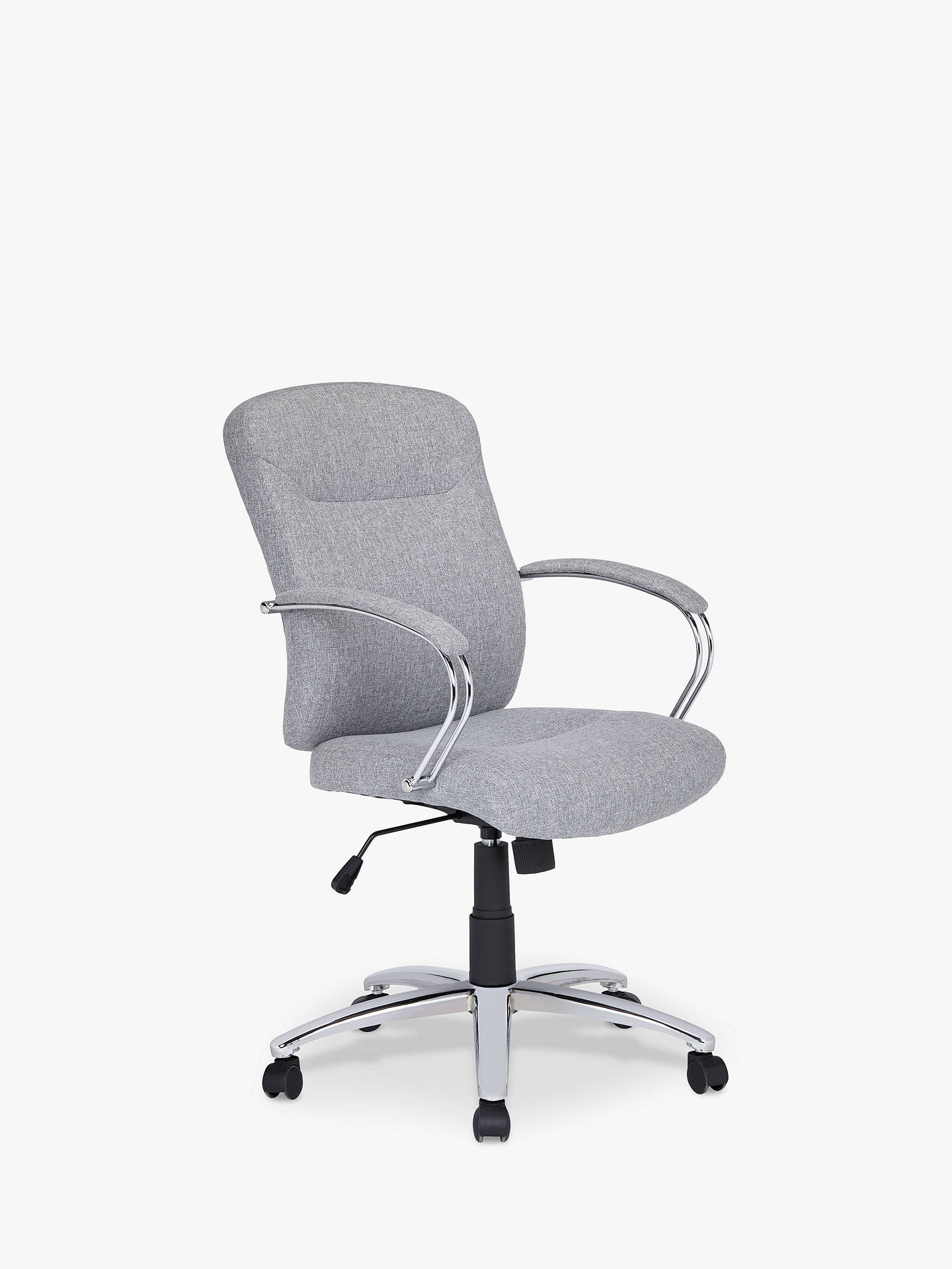 John Lewis Amp Partners Warner Fabric Office Chair Grey At