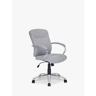 office furniture john lewis. John Lewis Warner Fabric Office Chair, Grey Furniture 3