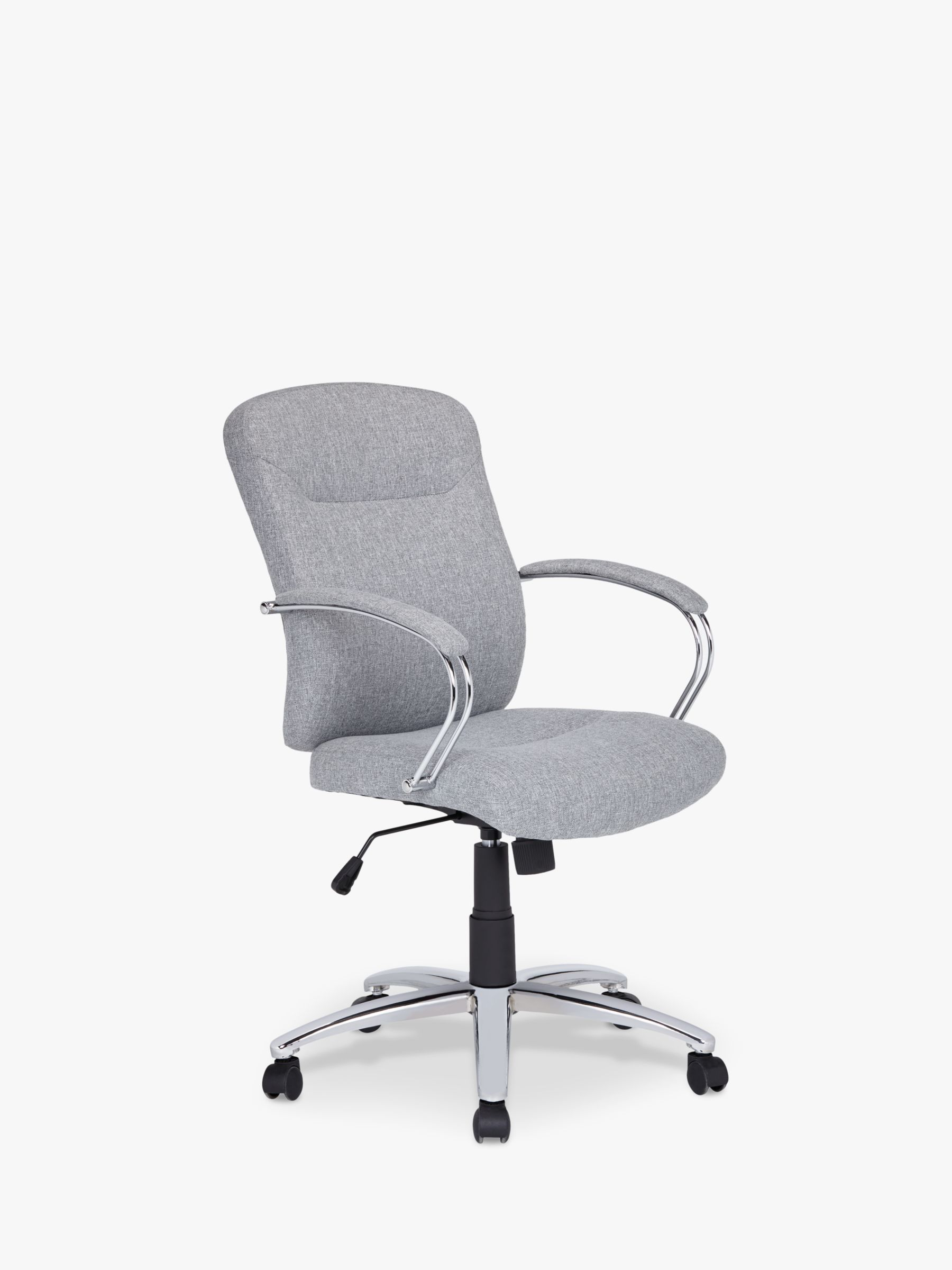 ANYDAY John Lewis & Partners Warner Fabric Office Chair, Grey