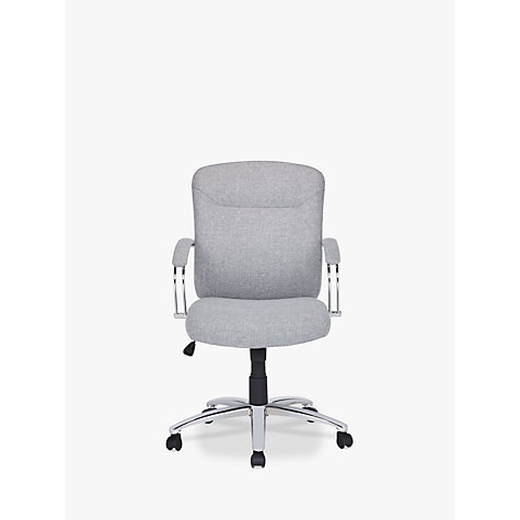 office chairs john lewis. buy john lewis warner fabric office chair grey online at johnlewiscom chairs a