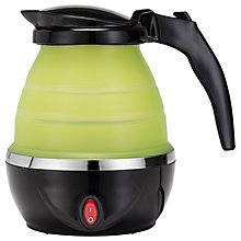 Buy Gourmet Gadgetry Collapsible Travel Kettle, Green Online at johnlewis.com