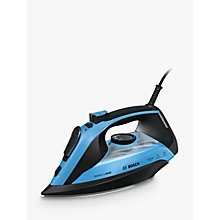Buy Bosch TDA5073GB Steam Iron, Blue Online at johnlewis.com