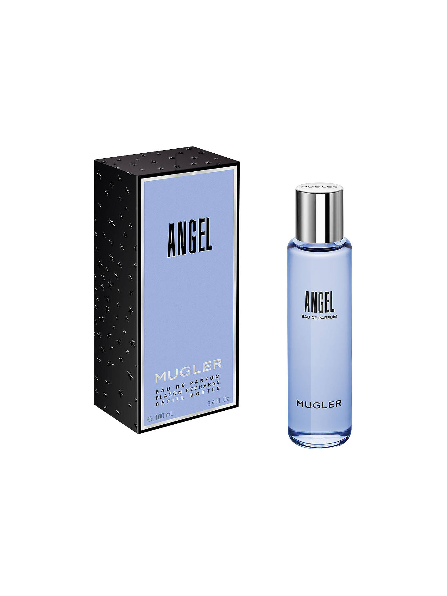 Mugler Angel Eau De Parfum Eco Refill Bottle 100ml At John Lewis