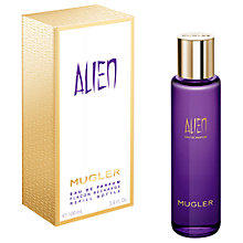 Buy Mugler Alien Eau de Parfum Eco Refill Bottle, 100ml Online at johnlewis.com