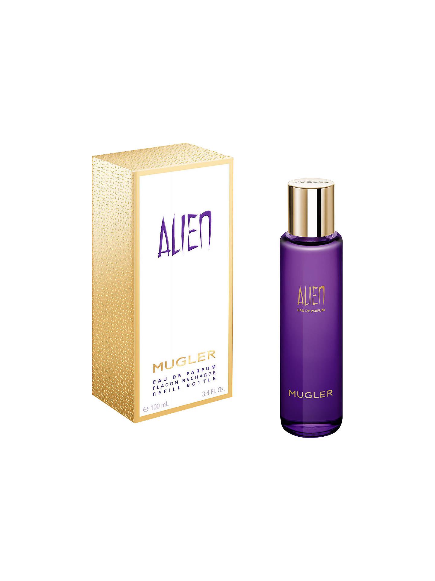 Mugler Alien Eau De Parfum Eco Refill Bottle 100ml At John Lewis