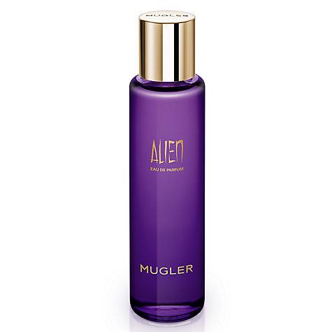 buy mugler alien eau de parfum eco refill bottle 100ml john lewis. Black Bedroom Furniture Sets. Home Design Ideas