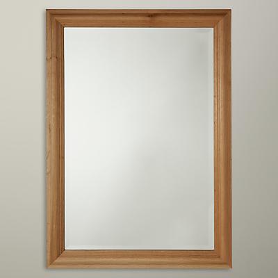 John Lewis Classic Oak Mirror, 88 x 63cm